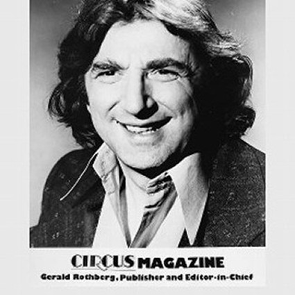 Gerald Rothberg Circus Magazine founder
